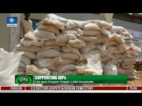Supporting IDPs: FAO Agric Program Target 1,000 Households