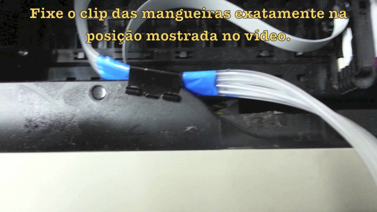 how to clean hp 8610 printhead site youtube.com