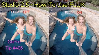 GoPro Studio 2.5 - How To Use FLUX Slow Motion - GoPro Tip #405