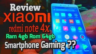 Review Xiaomi redmi note 4x 4gb/64gb Smartphone gaming