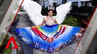 Trump-Kim summit costume: What does Miss Universe Singapore think of her dress?