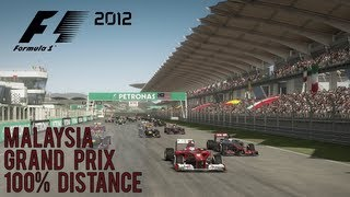 F1 2012 Malaysia Grand Prix 100% Length + One Shot Qualifying (PC Game)