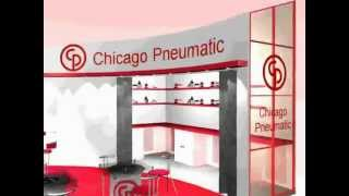 Exhibition Stand Design - Chicago Pneumatic 3d Fly-through