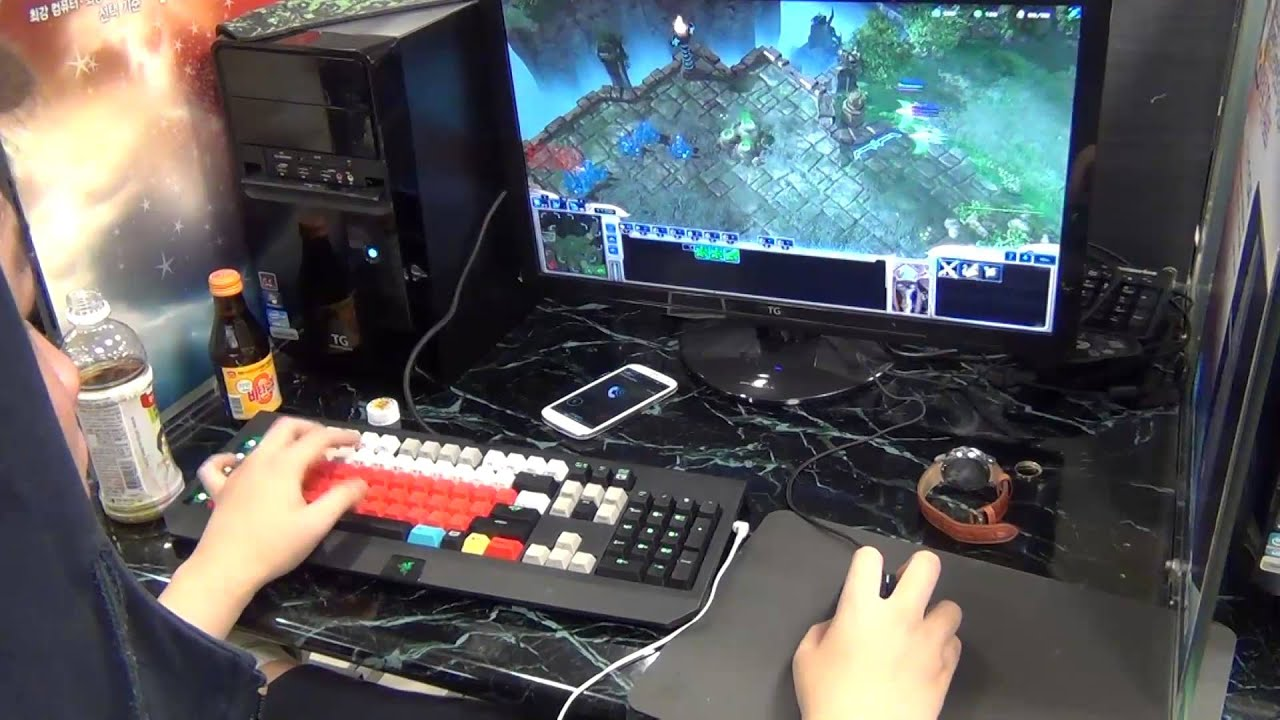 JYP First Person APM video at the WCS KR Qualifier