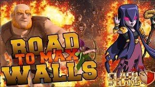 ROAD TO MAX WALLS#2 - 16.000.000 DI RISORSE, SIAMO PIENI! | Clash of Clans ITA