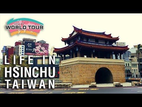 Living in Hsinchu, Taiwan - Jimmy's World Tour