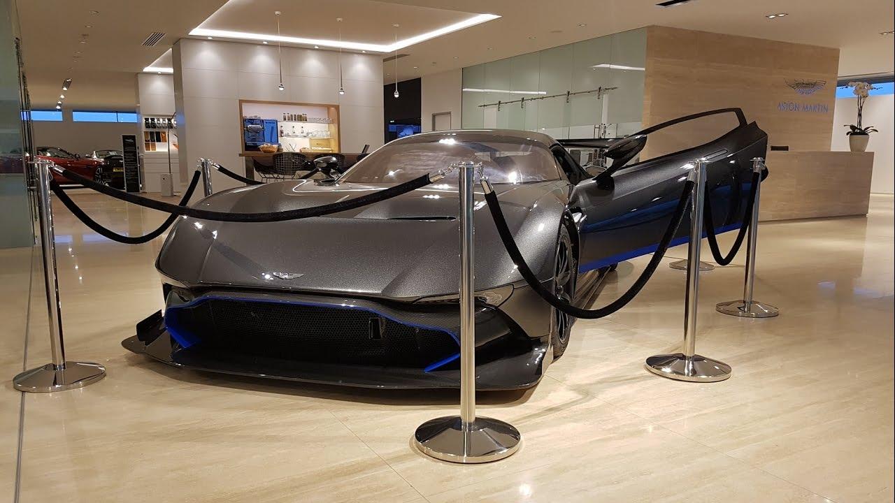 Coolest Showroom Aston Martin Bristol Vulcan Youtube