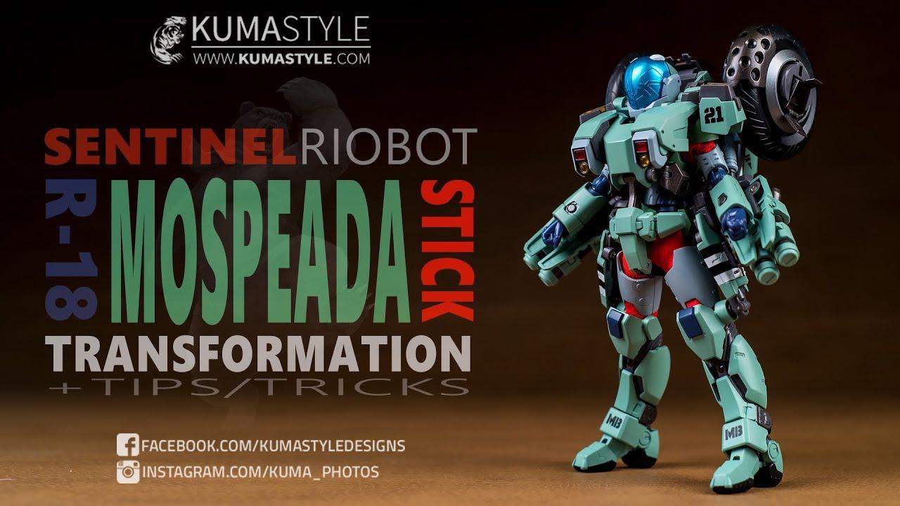 1//12 Riobot VR-052F Genesis Climber MOSPEADA Mospeada Stick Robotech Sentinel