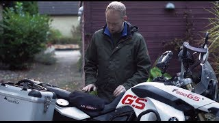 242 | Airhawk R for motorcycles | Danish review with English subtitles