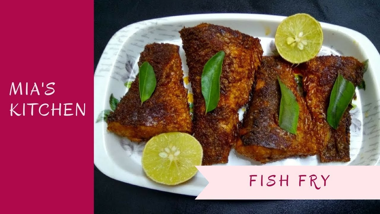 Poricha meen / Fish Fry in Tamil (with English subtitles)   Mia\'s ...