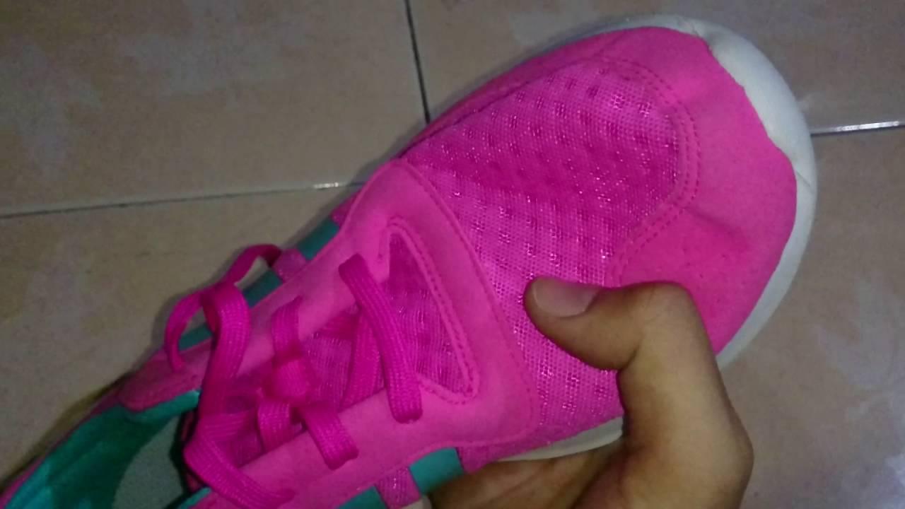 adidas courir les femmes est mystère ruby / bahia magenta / chaussures blanches