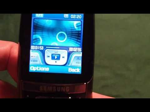 Samsung D600 Speaker Test