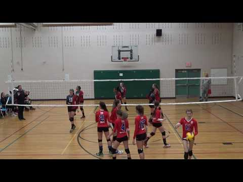 14U Provincial Cup - Semi Finals Durham Attack Blackout vs E381 on 2017 11 18 at Richmond Hill