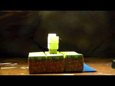Minecraft Paper Craft Animal Mobs