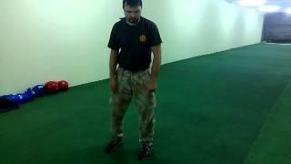 Видеоурок 17 .Кувырок назад.РУБИ-Русское боевое искусство(русский стиль рукопашный бой)