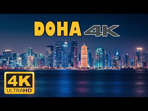 Doha, Qatar, 🇶🇦 in 4k