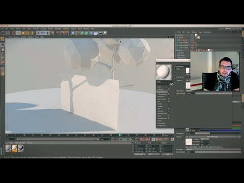Cinema 4D  paper / folding / animation  tutorial