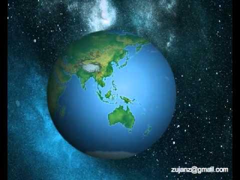Globe flash animation