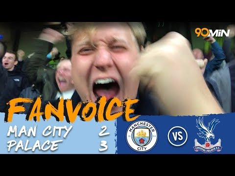 Man City 2-3 Crystal Palace | Man City get smashed by Palace 3-2 to leave Liverpool top! | FanVoice
