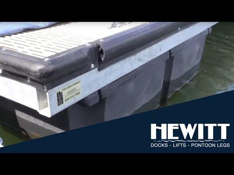 Hewitt Custom Foating Docks