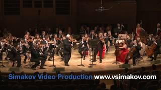 Видеоверсия концерта для двух скрипок с оркестром ре минор.