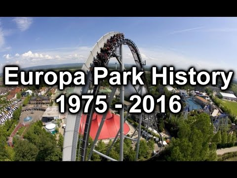 Europa Park History 1975 - 2016