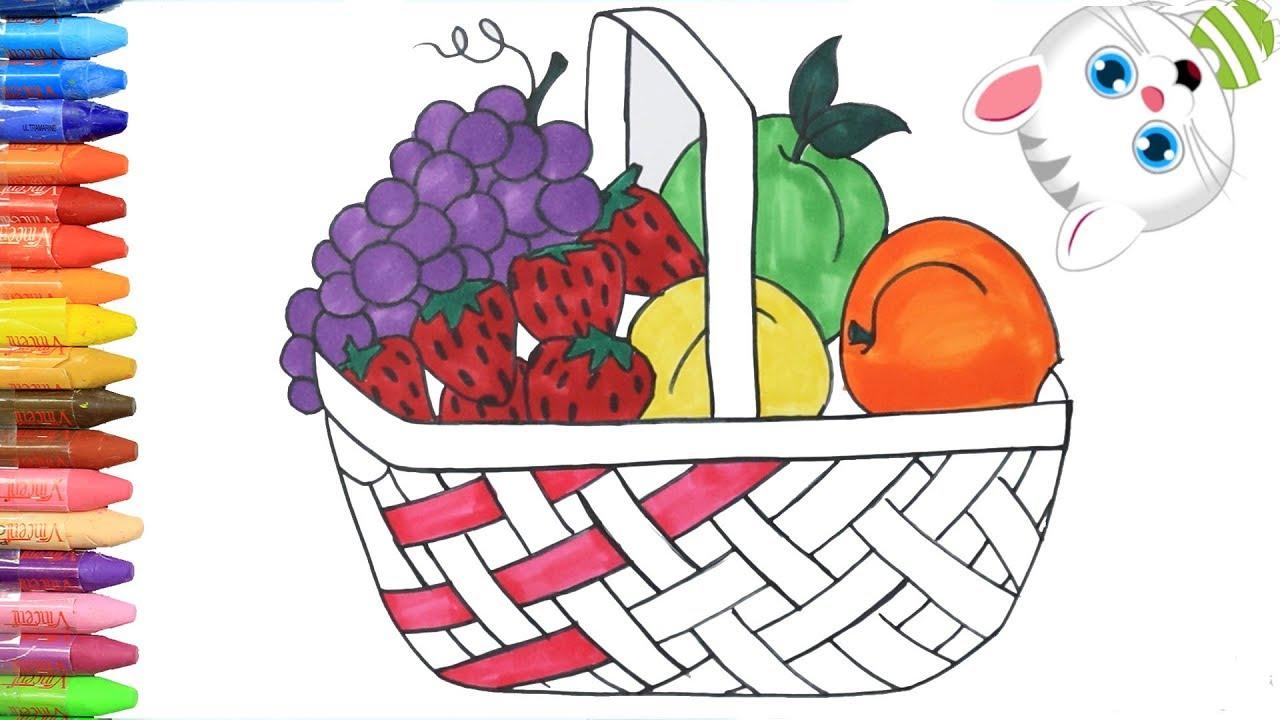 Meyve Tabağı Çizimi/Karakalem