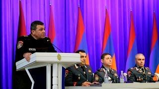 ՀՀ ոստիկանության կոլեգիայի նիստը  ամփոփվեցին 2016 թ  արդյունքները