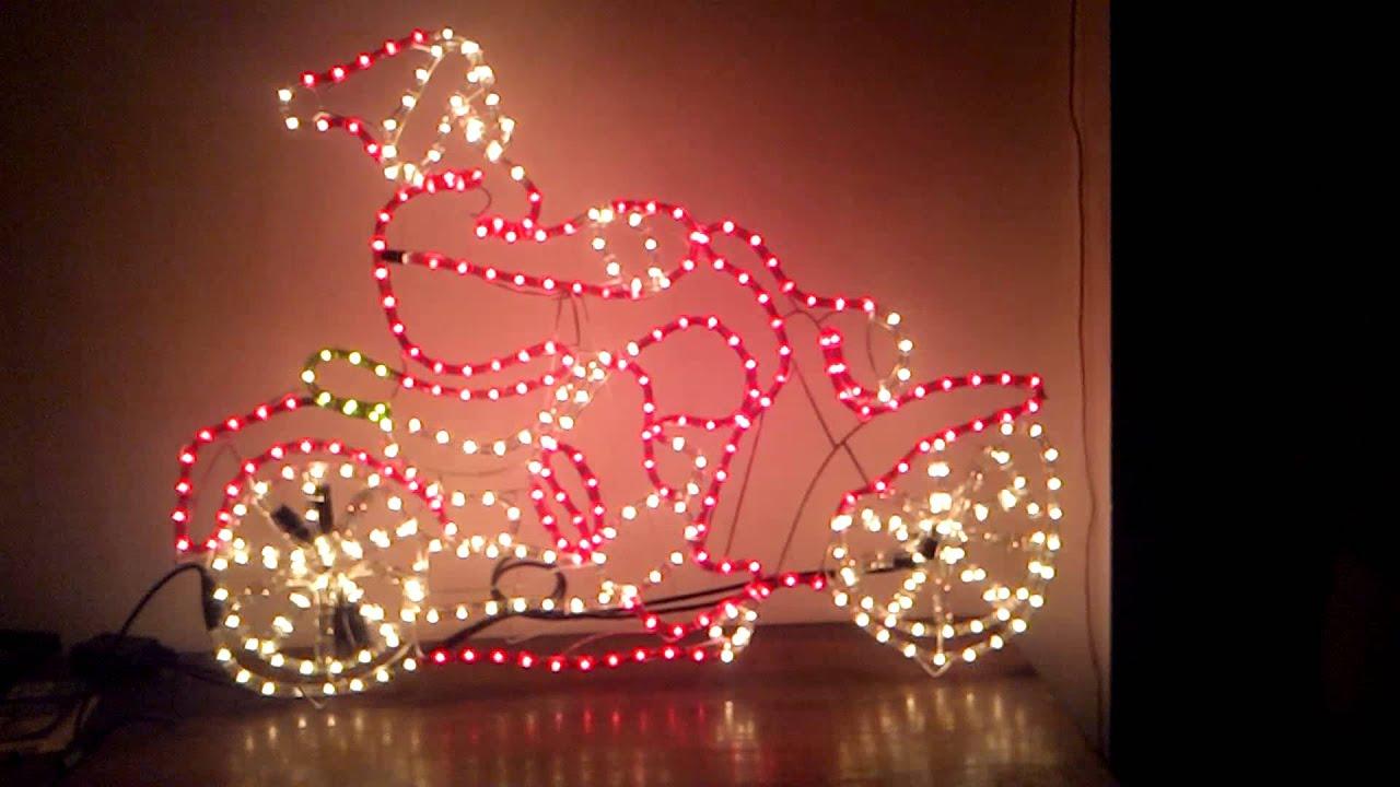 Unique Image De Pere Noel En Moto