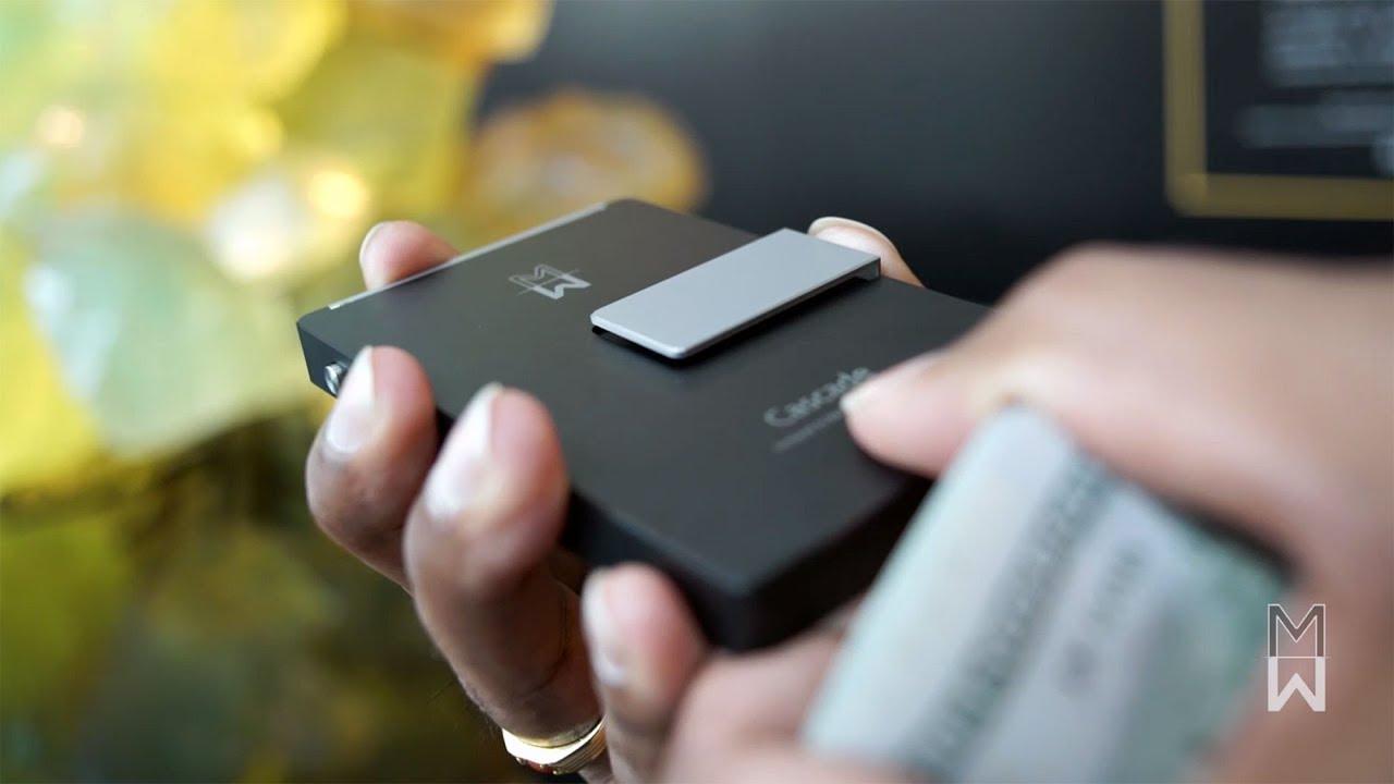 Cascade Wallet | Money & Business Card Clip - YouTube