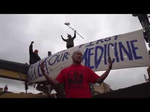 Jill Stein and Ajamu Baraka Stand with #NoDAPL Warriors