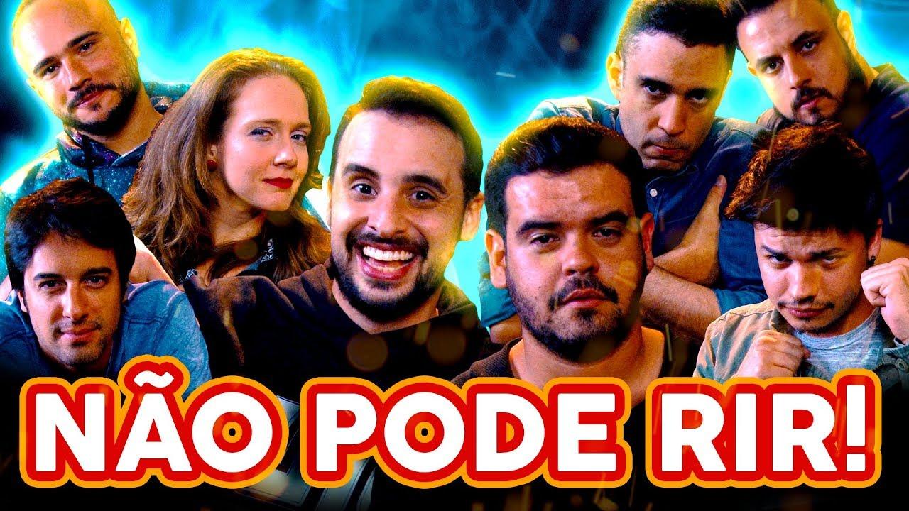 NÃO PODE RIR! com Cezar Mara****já, Daniel Curi, Felipe Absalão e Kwesny
