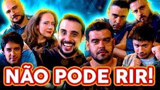 NÃO PODE RIR! com Cezar Maracujá, Daniel Curi, Felipe Absalão e Kwesny