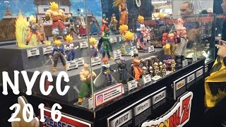 New York Comic Con 2016 NYCC Tamashii Nations SH Figuarts Mezco One:12 Collective Marvel & DC