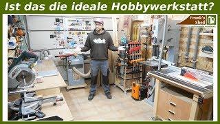 Ist DAS die ideale Hobbywerkstatt? Werkstatt Tour 2018   einrichten und selber bauen