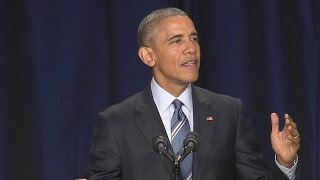 President Obama Speaks at the National Prayer Breakfast