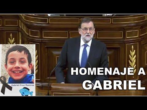 Homenaje en el Congreso de los Diputados al pequeño Gabriel Cruz TodosSomosGabriel