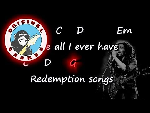 Bob Marley  Redemption song  Chords & Lyrics