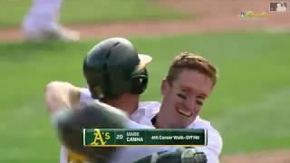 Mark Canha 2019 Highlights | Oakland Athletics