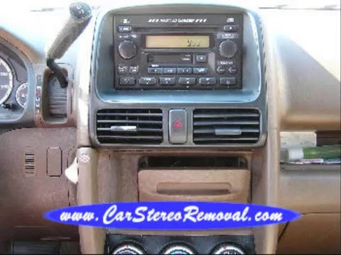 2005 honda cr v stereo wiring how to change clock time in 2002-2005 honda crv | doovi #15