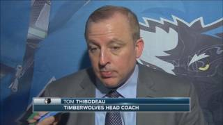 Wolves' Thibs says Wiggins showed mental toughness in his game winner