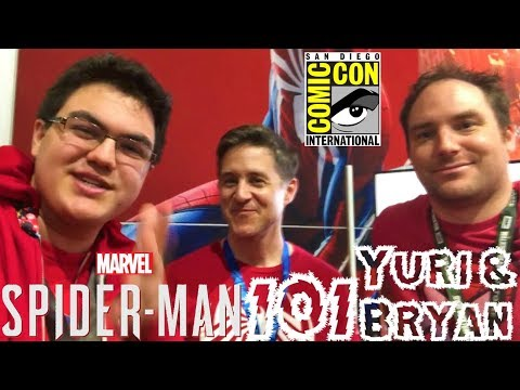 Spider-Man PS4: 101 - Marvel's Spider-Man Q&A w/ Yuri Lowenthal & Bryan Intihar at SDCC 2018!!!