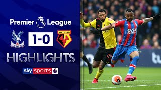 Ayew strike moves Palace into top half | Crystal Palace 1-0 Watford | EPL Highlights