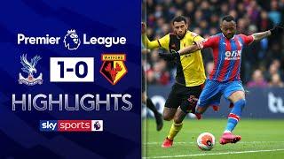 Ayew strike moves Palace into top half | Crystal Palace 1-0 Watford | EPL Highlights