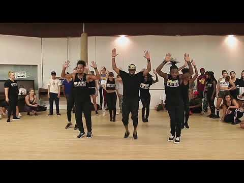 Dancehall Funk Class In Los Angeles Featuring DHF Fraternity