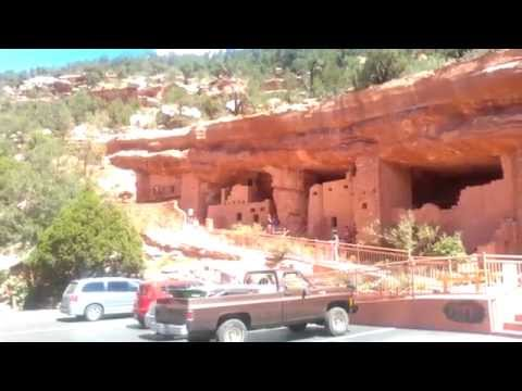 Tour of Manitou Springs Colorado The Cliff Dwellings & Museum HD Video 2014