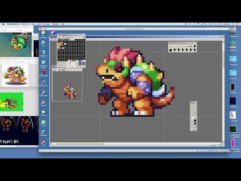PIXEL ART TIMELAPSE - Super Mario Bros