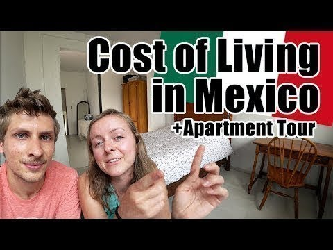 #99. All-Inclusive Cost of Living in Mexico + Apartment Tour