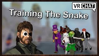 [ VRChat with Nurfee ] Training Moddex, Mini The Serial Killer [ Virtual Reality ]