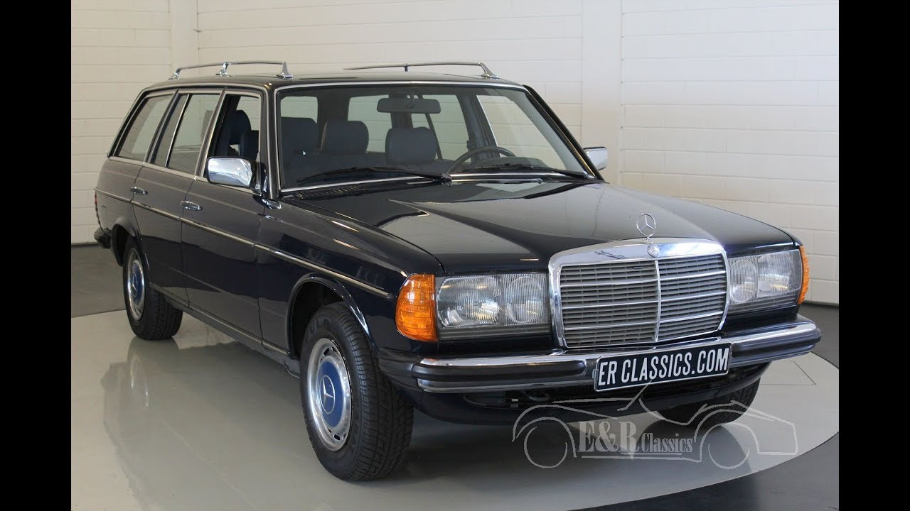 Mercedes Benz 240 Td 1984 Video Www Erclassics Com Youtube